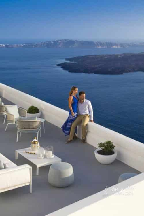 Grace champagne lounge terrace