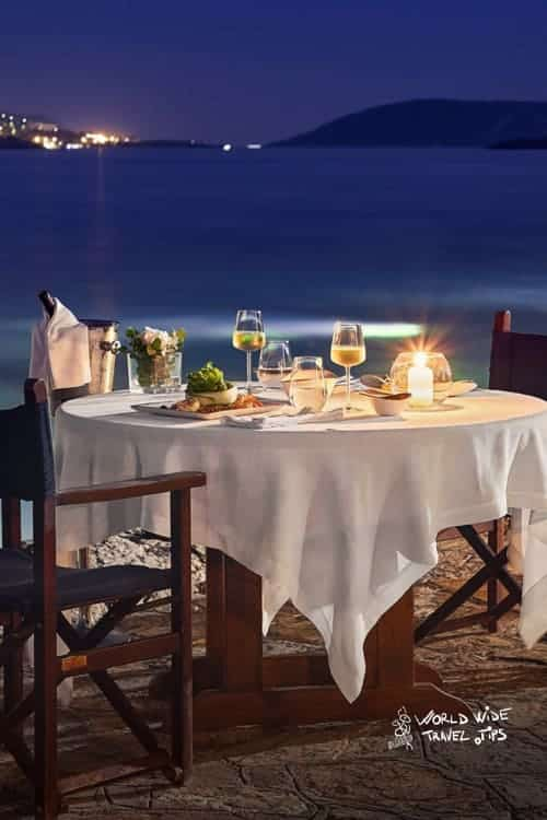 Grand Resort Lagonissi Romantic Dinner