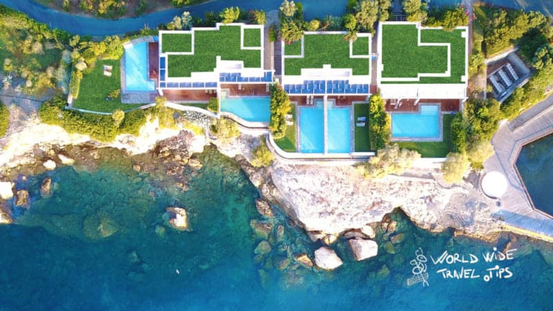 Grand Resort Lagonissi View from above