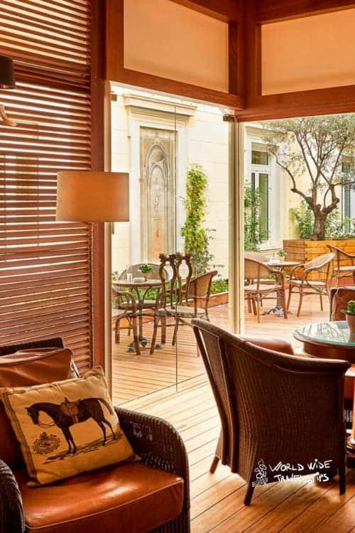 Hotel Grande Bretagne Athens Alexander Lounge Exterior