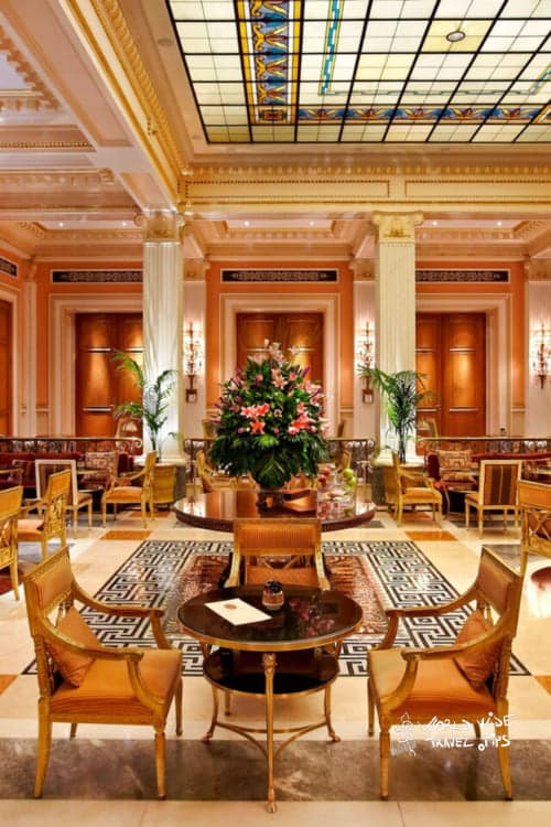 Hotel Grande Bretagne Athens Winter Garden Restaurant