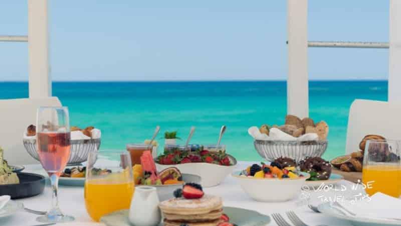 Ikaros Beach Resort Spa tasty breakfast