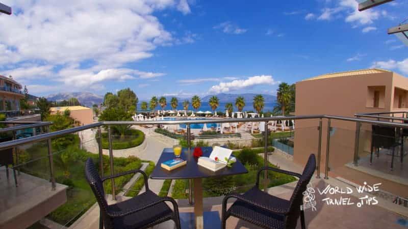 Ionian Emerald Resort terrace view