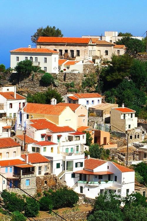 Kea Grek Island Greece near Athens Town