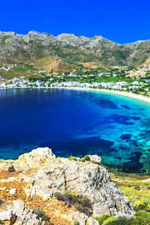 Kea Island Grek Island Greece near Athens