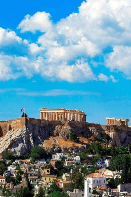 King George Hotel Acropolis view
