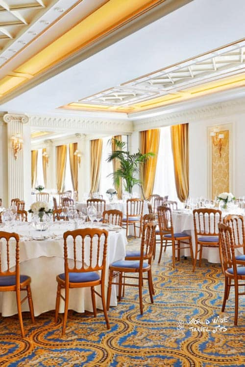 King George Hotel Restaurant Wedding Decoration