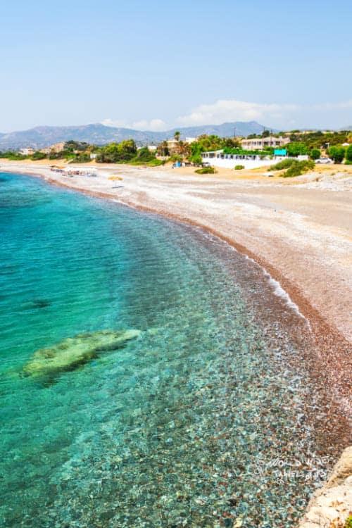 Kiotari beach on rhodes island greece Weather in Kiotari Rhodes