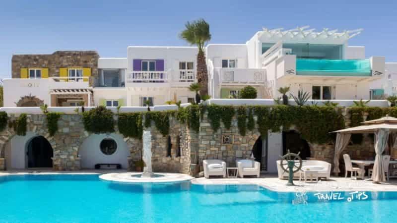Kivotos Hotels Mykonos Pool Area