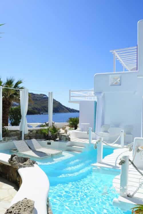 Kivotos Hotels Mykonos Pool