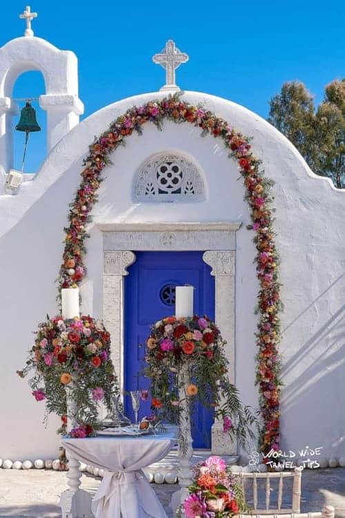 Kivotos Hotels Mykonos wedding chapel