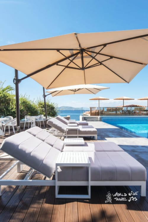 Lalibay Resort spa Aegina 5 star hotel pool