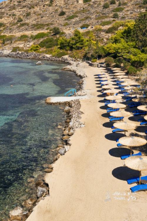 Lalibay Resort spa Aegina 5 star hotel private beach