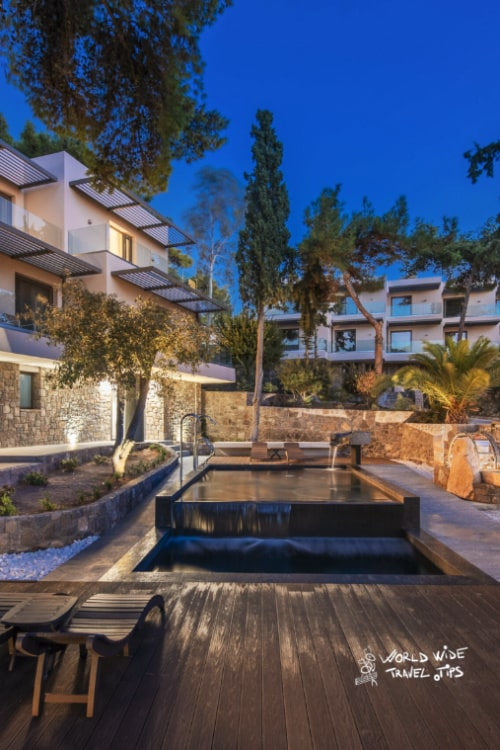 Lalibay Resort spa Aegina 5 star hotel private pool