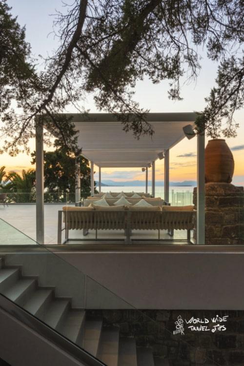 Lalibay Resort spa Aegina 5 star hotel restaurant terrace