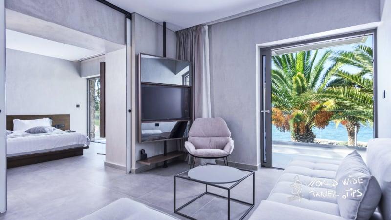 Lalibay Resort spa Aegina 5 star hotel room view