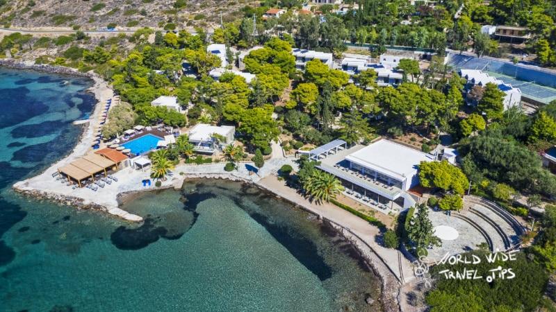 Lalibay Resort spa Aegina 5 star resort Greece