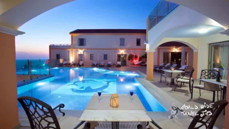 Melmar View Hotel Pool Terrace area