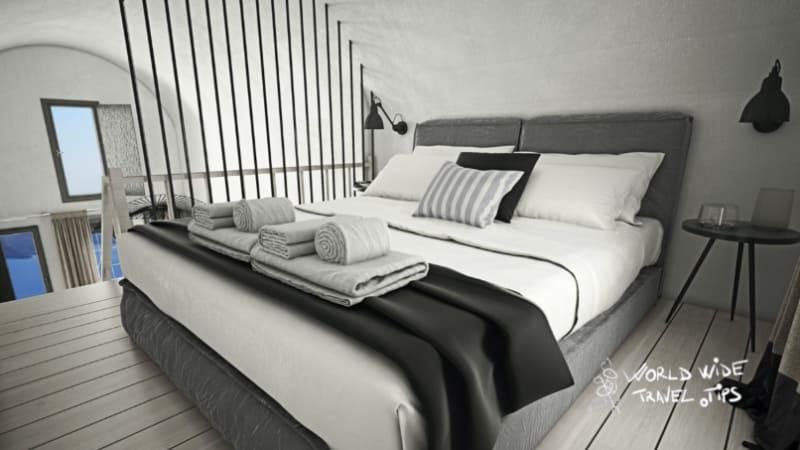 Mr and Mrs White Santorini Hotel Luxury Room