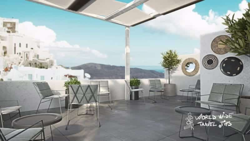 Mr and Mrs White Santorini Hotel Restaurant