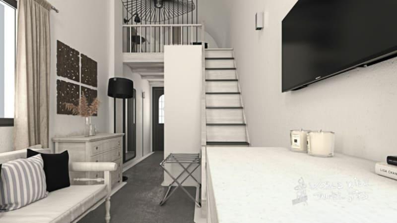 Mr and Mrs White Santorini Hotel Room