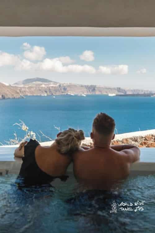 Mystique Hotel Santorini Mistery Villa Private Jacuzzi Wine