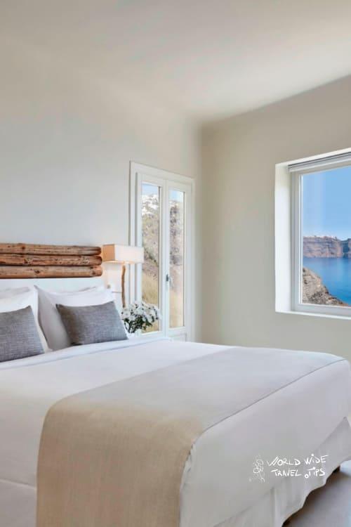 Mystique Hotel Santorini Mystery Villa Bedroom