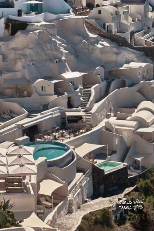 Mystique Hotel Santorini View