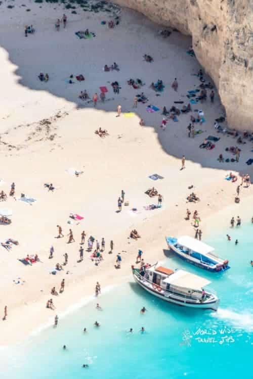 Navagio Greece Zakynthos Zante Greek Island Beach