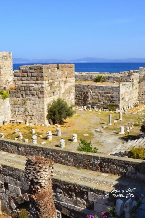 Neratzia castle Kos Island Greek Islands