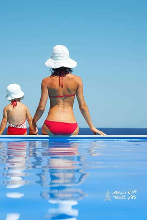 Okeanos Luxury Villas Pool family