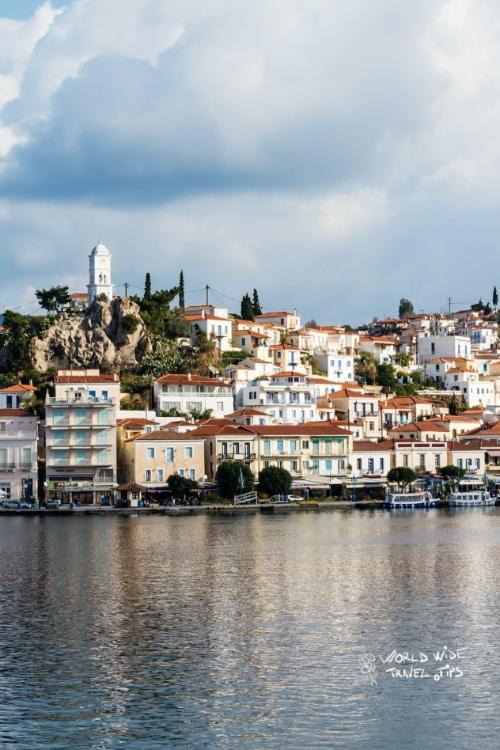 Poros Island Greek Islands near Athens Greece