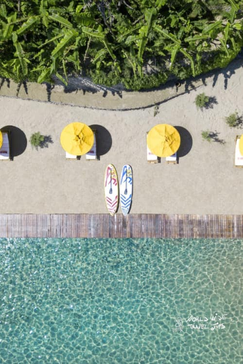 Porto Zante Villas and Spa Beach Sunbeds