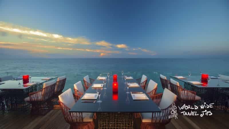 Porto Zante Villas and Spa Dinner Restaurant Sunset