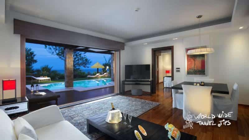 Porto Zante Villas and Spa Luxury Hotel Living Room