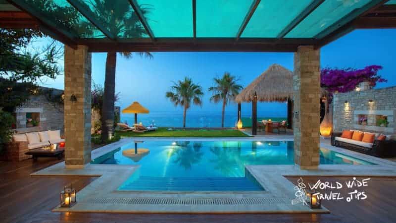 Porto Zante Villas and Spa Pool luxury hotels in Greece for families