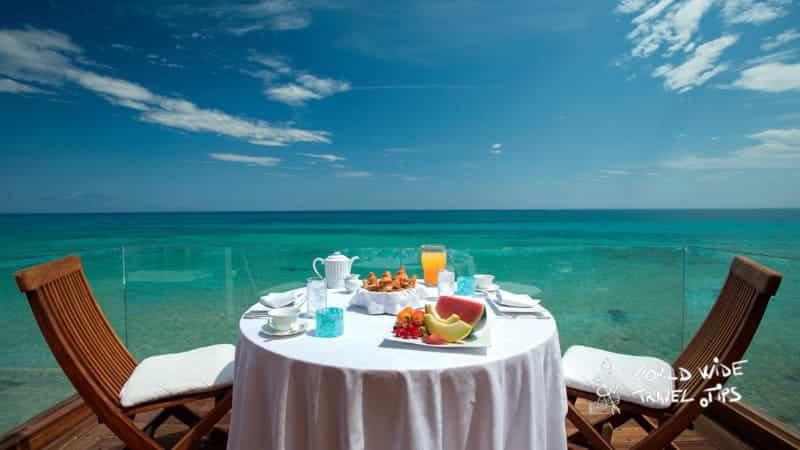 Luxury hotels in Greece Porto Zante Villas and Spa Private Breakfast