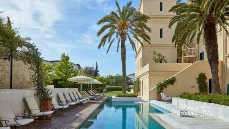 Poseidonion Grand Hotel Pool area