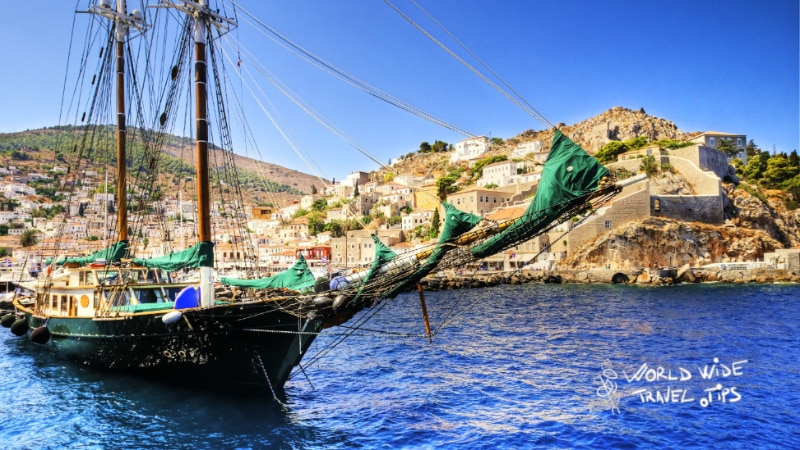 how many Greek islands are there Sailing the Greek Islands Hydra Sail Aegean Sea Mediterranean Boat Ship