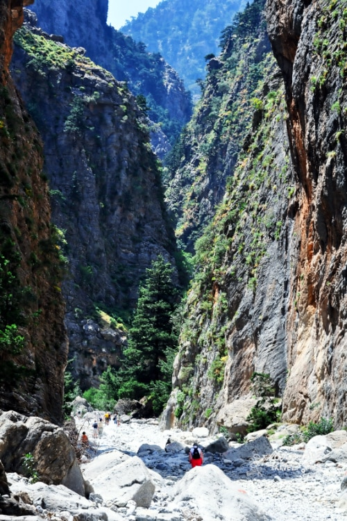 Samaria Gorge Crete Greece Greek Island