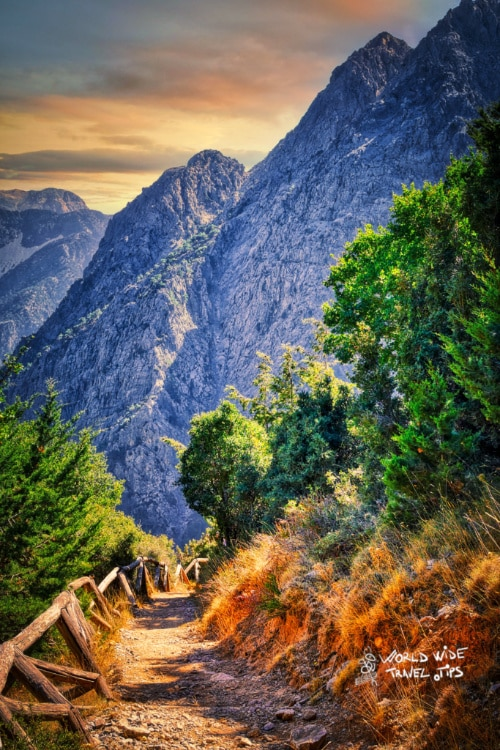 Samaria Gorge Crete Greek Island Greece