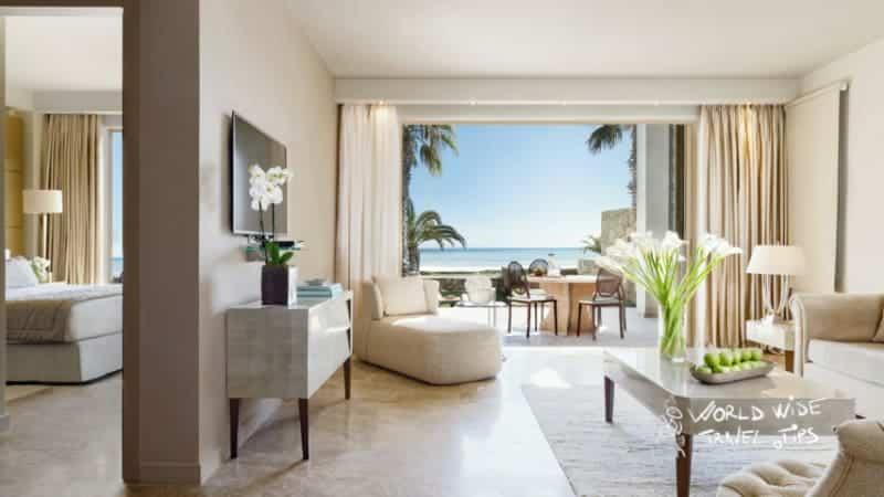 Sani Asterias Beachfront Suite