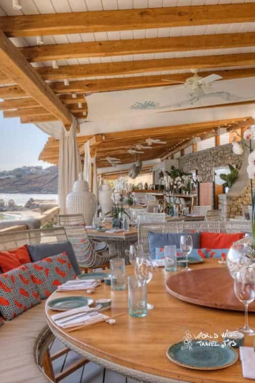 Santa Marina Luxury Hotel Mykonos buddha bar