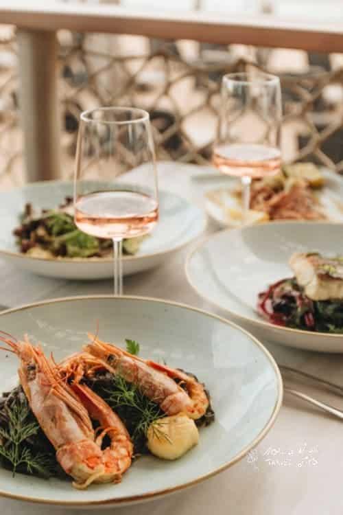 The Romanos Costa Navarino Barbouni Restaurant Sea Food Fish Specialty