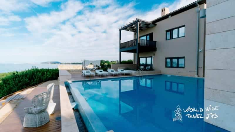 The Romanos Costa Navarino Koroni Royal Villa Pool