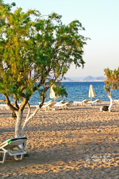 Tigaki Beach Kos island in Greece Greek Islands