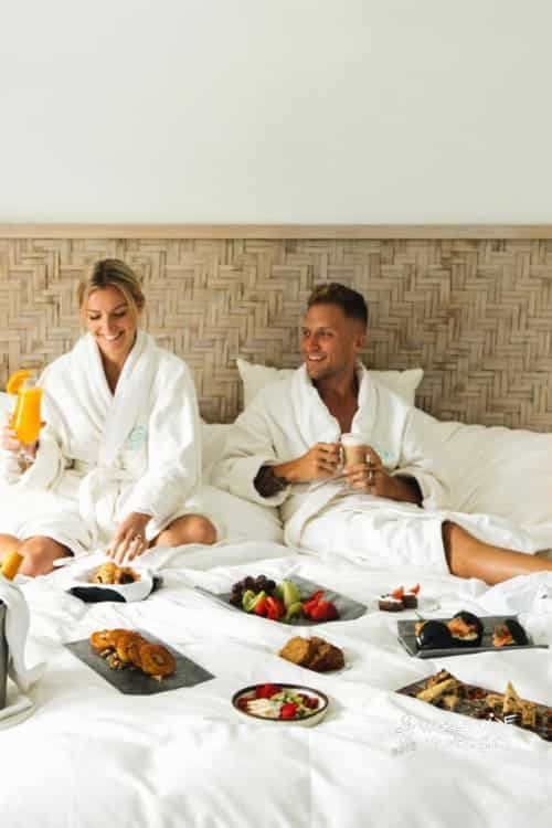 Vedema Nafsika Estate Luxury Collection Resort Breakfast in Bed