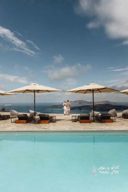 Vedema Nafsika Estate Luxury Collection Resort Pool Santorini View