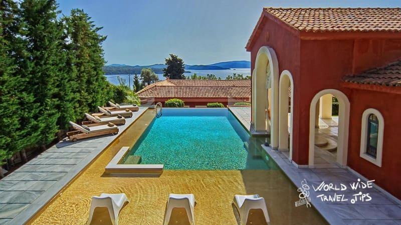 Villa Veneziano Lefkada Villa with private pool