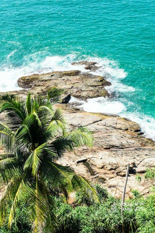 Indian Ocean Bentota Beach of Sri Lanka